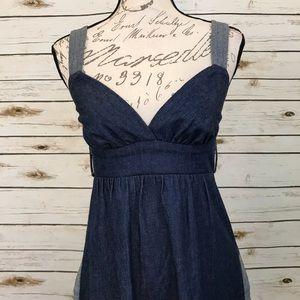 Voom by Joy Vintage Denim Jean Dress